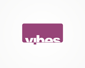 Vibes, electronic music, parties, clubbing, events, organizer, agency, logo, logos, logo design by Alex Tass
