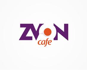 Zvon, cafe, bar, pub, grill, restaurant, lounge, logo, logos, logo design by Alex Tass