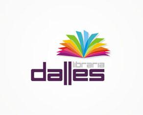 Dalles, library, books shop, rebranding, redesign, logo, logos, logo design by Alex Tass