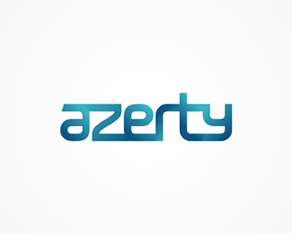 Azerty, online store, electronics, PC, components, IT, logo, logos, logo design by Alex Tass