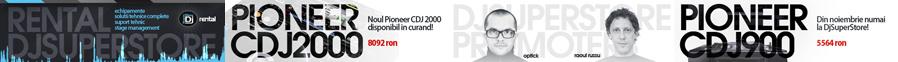 djsuperstore - website banners