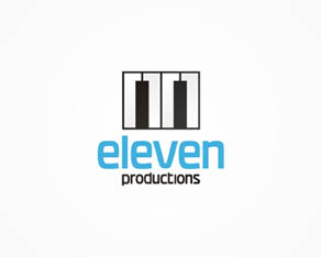 11, 11even, Eleven, music, audio, productions, logo, logos, logo design by Alex Tass