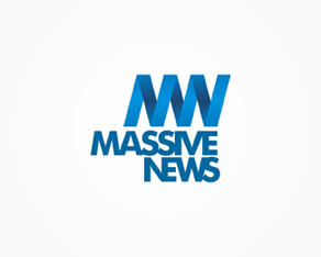 Massive News, news, portal, logo, logos, logo design by Alex Tass