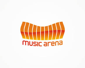 Music Arena, electronic music, online, portal, logo, logos, logo design by Alex Tass