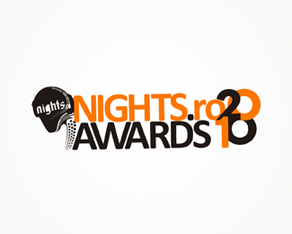 nights.ro, Romanian, clubbing, electronic music, industry, 2010, awards, logo, logos, logo design by Alex Tass