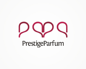 Prestige Parfum, perfume, perfumery, parfums, distributor, logo, logos, logo design by Alex Tass