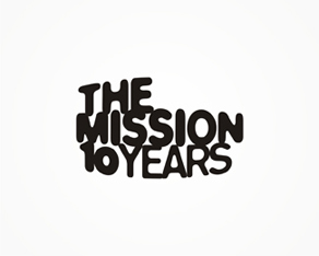 The Mission – 10 years anniversary logo design