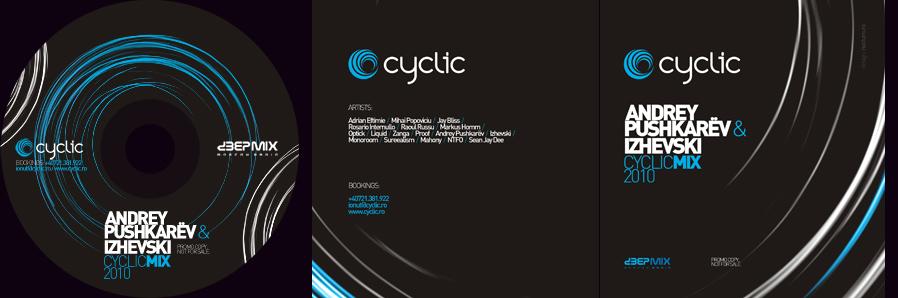 cyclic - cd and booklet cover - andrey pushkarev, izhevski - deepmix.ru, deepmix.eu