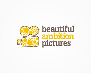 Beautiful Ambition Pictures, US film and movies production company logo, logos, logo design by Alex Tass