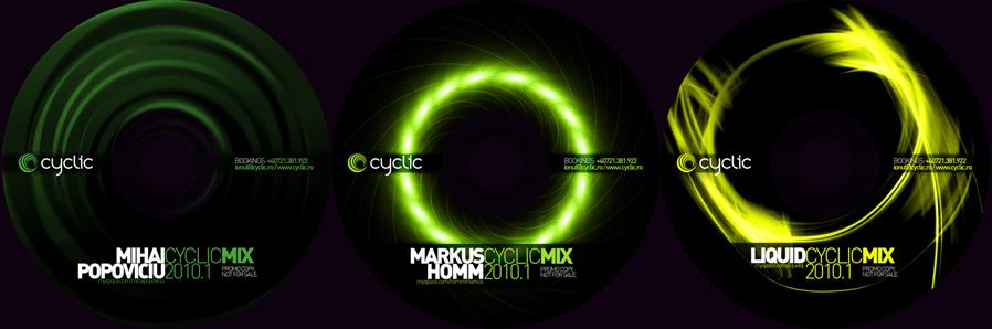 cyclic bookings - promo mixes cds - mihai popoviciu, markus homm, liquid