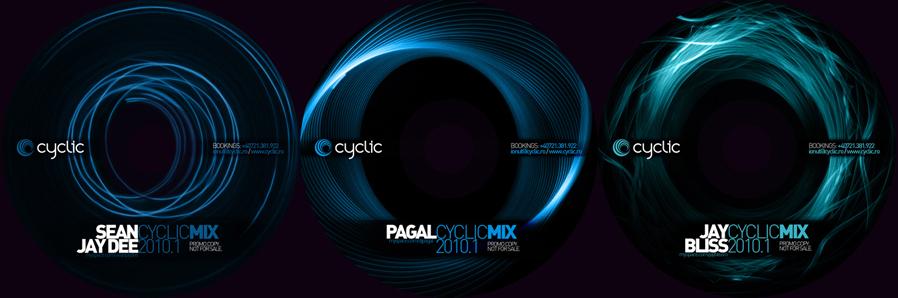 cyclic bookings - promo mixes cds - sean jay dee, pagal, jay bliss