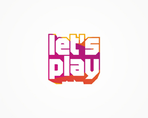 Let's Play logo design