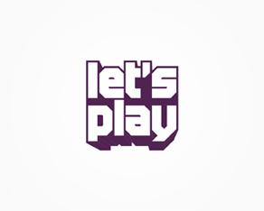 let's play gaming portal logo, logos, logo design by Alex Tass