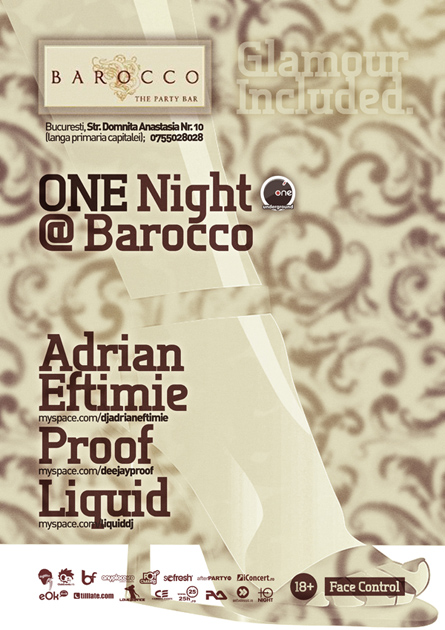 one night at barocco wip - adrian eftimie, proof, liquid