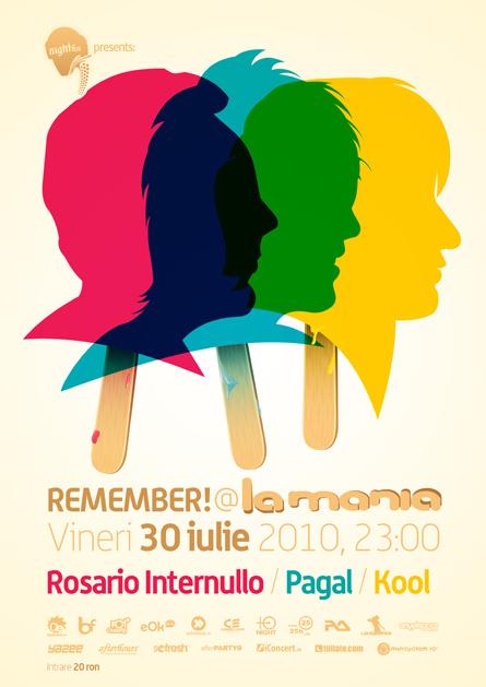 rosario internullo, kool, pagal - remember @ la mania