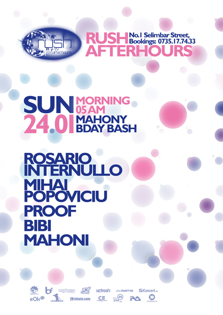 rush afterhours - rosario internullo, mihai popoviciu, proof, mahoni