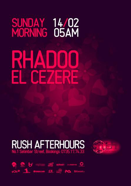 rush afterhours - rhadoo, el cezere
