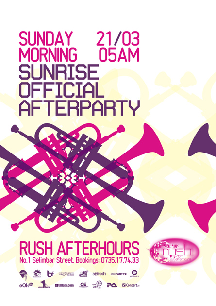 rush afterhours - sunrise official afterparty (luciano)
