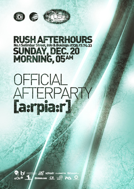 rush afterhours - sunrise official afterparty
