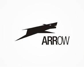 Arrow - experimental, abstract, concept logo, logos, logo design by Alex Tass