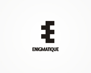 enigmatique, concept, abstract, experimental, design work, logo design, available for sale, logo, logos, logo design by Alex Tass