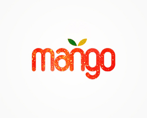 Mango booking agency logo design