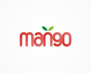 mango electronic music dj booking agency logo, logos, logo design by Alex Tass
