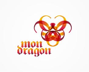 mon dragon, concept, abstract, experimental, design work, logo design, available for sale, logo, logos, logo design by Alex Tass