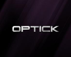DJ Optick, Romanian, electronic music, dj, producer, logo, logos, logo design by Alex Tass