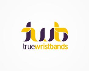 twb - true wristbands, wristbands for parties, clubbing, dance, disco, corporate, events, logo, logos, logo design by Alex Tass
