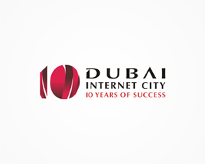 Dubai Internet City – 10 years anniversary logo design