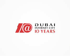 Dubai internet city 10 years anniversary logo, logos, logo design by Alex Tass