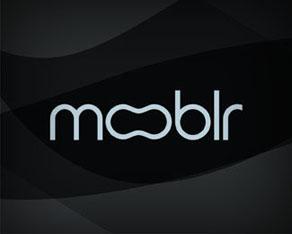 Mooblr logo design