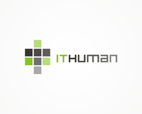IT human, IT, HR, services company, logo, logos, logo design by Alex Tass