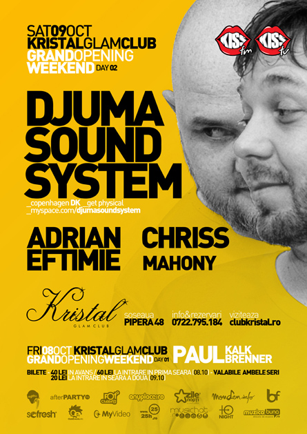 kristal glam club - djuma soundsystem