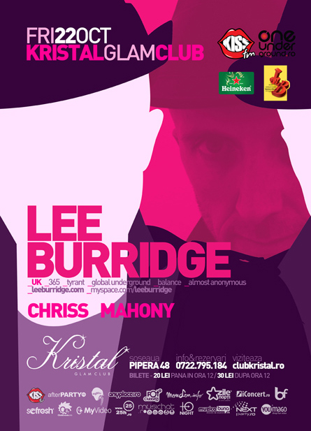 kristal glam club - lee burridge