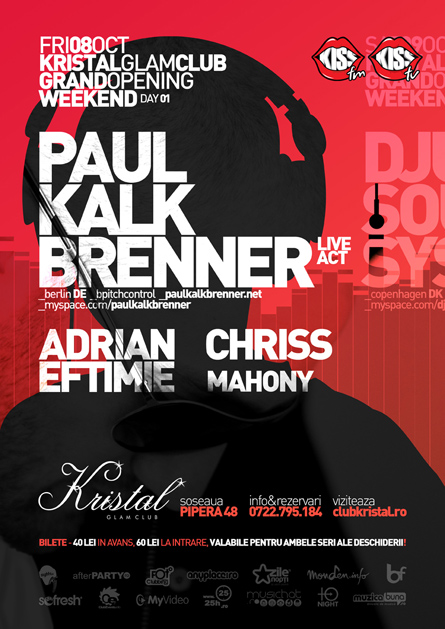 kristal glam club - paul kalkbrenner
