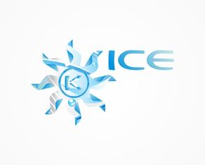 kudos ice, winter electronic music event gathering logo, logos, logo design by Alex Tass