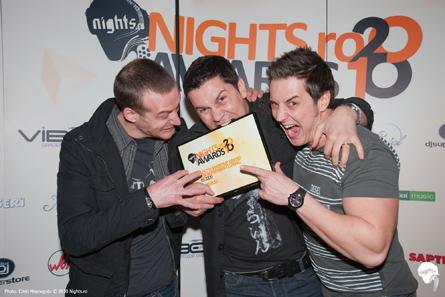 nights.ro awards 2010 - red bull team