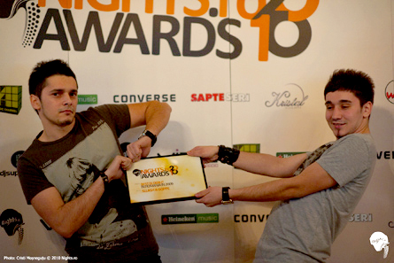 nights.ro awards 2010 - sllash and doppe