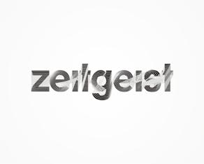 zeitgeist - German electronic music records label logo, logos, logo design by Alex Tass