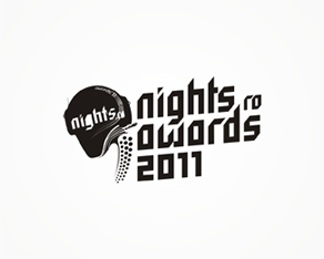2011 nights.ro awards, Romanian clubbing industry and dance music awards logo, logos, logo design by Alex Tass