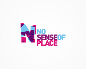 no sense of place records, Italy, Italian electronic music records label logo, logos, logo design by Alex Tass