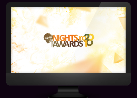 nights.ro awards 2010 - desktop wallpaper