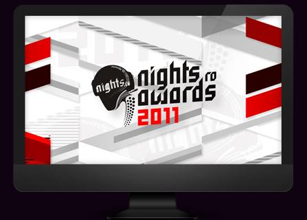 nights.ro awards 2011 - desktop wallpaper