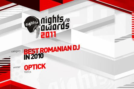 nights.ro awards 2011 - diploma design