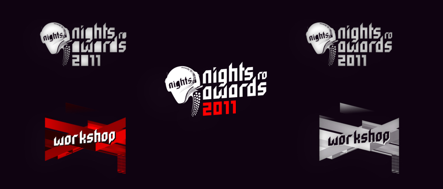 nights.ro awards 2011 - event and workshop logo