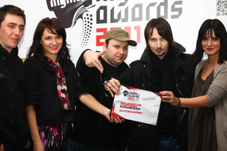 nights.ro awards 2011 - best concept for a party series - selectro