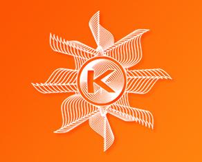 Kudos Beach 2011 - 10 years anniversary logo design