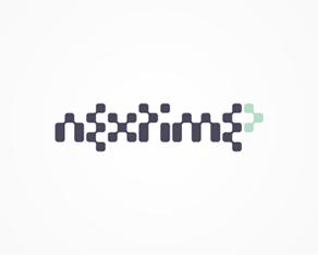 Nextime - clubbing / electronic music portal logo design